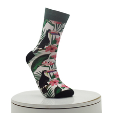 Ramphastostoco Pattern Digital Printed Socks