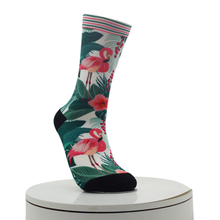 Flamingo Pattern Digital Printed Socks